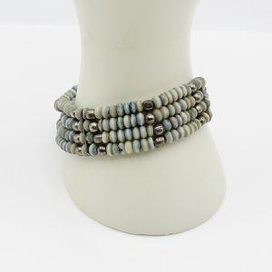 Vintage stone bead bracelet